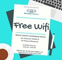 Free WIFI at Wolfe County Extension Office