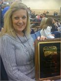 WCHS Counselor receives prestigious award