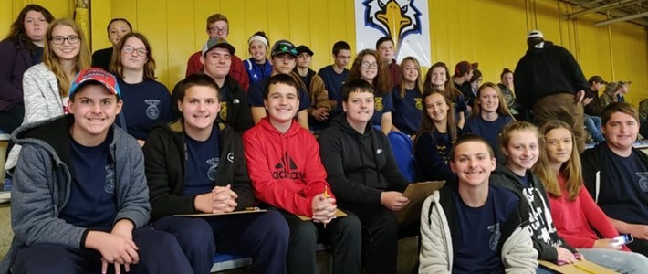Wolfe County FFA students attended competition at Morehead State University.