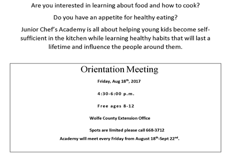 Junior Chef's Academy