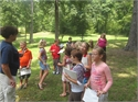2nd Graders Explore the Outdoor Classroom