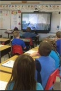 Red River School Students Take a Virtual Field Trip