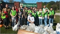 Rogers Elementary Holds PRIDE Cleanup Day