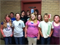 Wolfe County Middle School Honors Perfect Attendance Students for 2013-2014