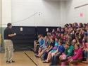 Wolfe County Schools Guest Speaker Talks About Bullying