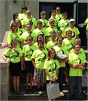 Wolfe County Schools Gifted and Talented Attend Camp
