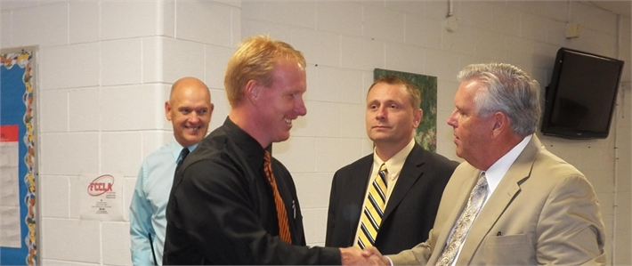 Commissioner of Education visits Wolfe County Schools.