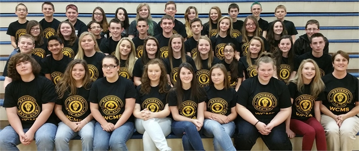 WCMS 2015-2016 Jr. Beta Club