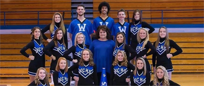 WCHS 2015-2016 Cheerleaders